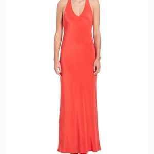 Polo Ralph Lauren Red Racerback Gown Size 2